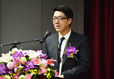 西門子總經理鄭智峰。(漢翔提供)
