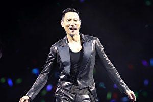 张学友首场户外巡回演唱会于惠州站启动。(环球国际提供)