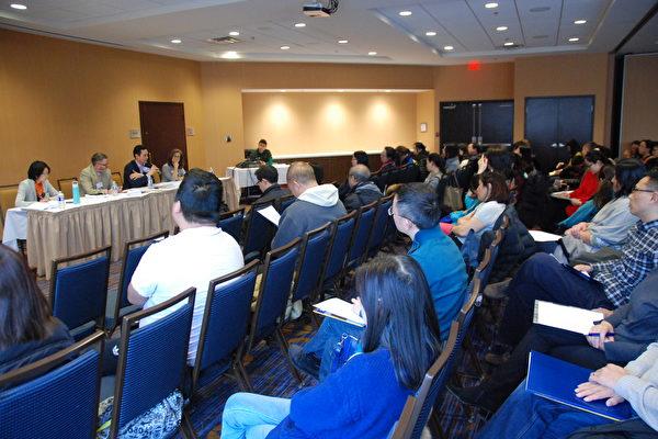 私校讲座吸引近200名华人家长参加。(伊铃/大纪元)