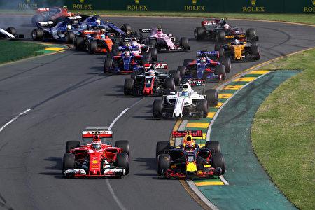 赛季才刚刚开始,法拉利的表现,预示著本赛季将是一个竞争激烈的赛季。(Mark Thompson/Getty Images)