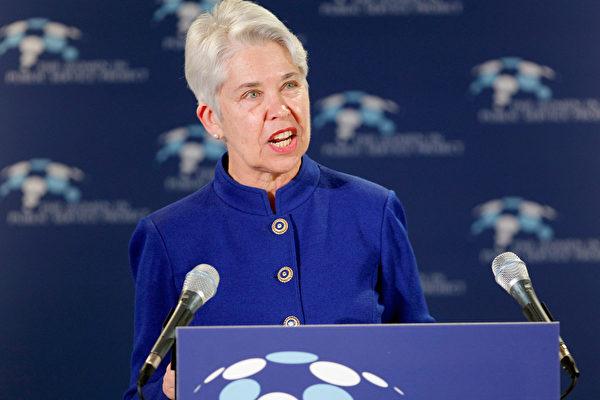 3月16日,前史密斯学院院长卡罗尔•克里斯特(Carol T. Christ)被任命为加大伯克利分校第11任校长。(Chip Somodevilla/Getty Images)