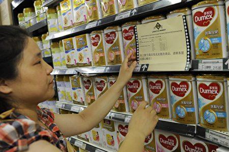根据全球市场情报机构Mintel的研究,食品是中国消费者从澳大利亚和新西兰进口最多的东西。  (STR/AFP/Getty Images)