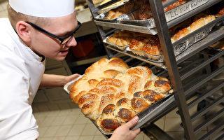 據統計,與2009年相比,現在麵包房的數量大約減少了五分之一。 ( Adam Berry/Getty Images)