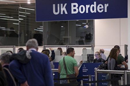 4月6日起,在英國超期滯留30天,12個月內禁止再次入境。( Oli Scarff/Getty Images)