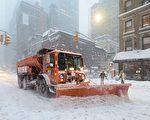 紐約市長白思豪在今天中午宣布,紐約市的公校會在3月14日停課一天。(AFP)