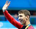 """这是""""飞鱼""""菲尔普斯最后一次参加的里约奥运会,今年6月观众可在探索频道《鲨鱼周》节目再次看到他。 (Adam Pretty/Getty Images)"""