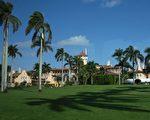 白宮週四(30日)確認說,美國總統川普將於4月6日和7日與中國國家主席習近平進行首次會晤,會面地點將為佛州棕櫚灘的馬爾拉歌莊園。(Photo credit should read DON EMMERT/AFP/Getty Images)
