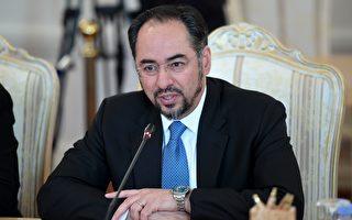 阿富汗外交部長拉巴尼於2017年3月21日出席華盛頓的反伊斯蘭國會議,他呼籲美國與北約應增兵繼續支持阿富汗打擊恐怖組織。本圖為拉巴尼於2017年2月7日赴莫斯科與俄羅斯外長會談。(KIRILL KUDRYAVTSEV/AFP/Getty Images)