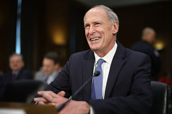 作为川普政府的最高情报官员,柯茨将会负责监管16个其他情报机构,同时也将会是负责调查俄罗斯干扰2016年大选的关键人物。(Photo by Chip Somodevilla/Getty Images)