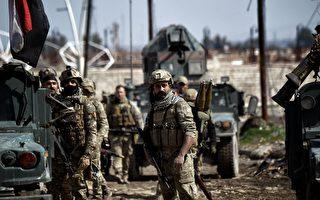 伊拉克部隊已經接近摩蘇爾市中心的主要政府大樓。與此同時,美國五角大樓也在制定奪回敍利亞重鎮拉卡的策略。(Photo credit should read ARIS MESSINIS/AFP/Getty Images)