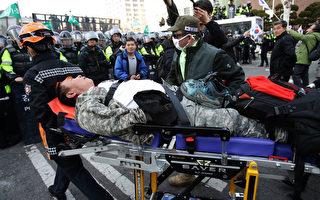 朴槿惠遭弹劾 韩民众与警爆冲突已知2人死