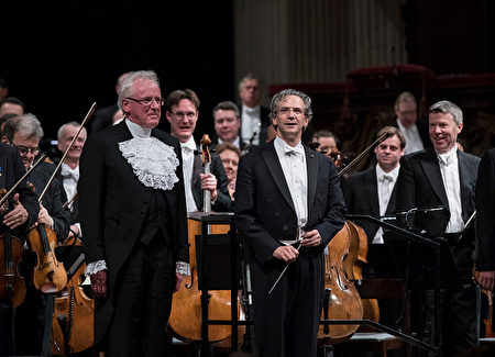 多才多藝的倫敦市市長大人。(John Phillips/Getty Images for the London Symphony Orchestra)