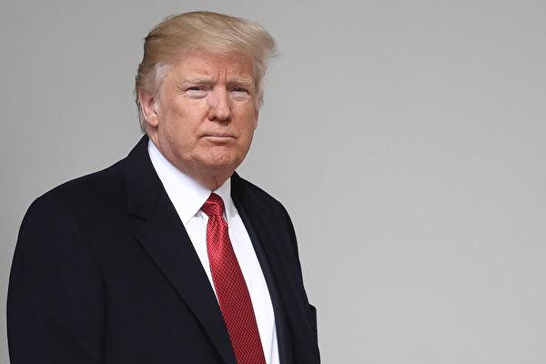 """美国总统川普指责朝鲜独裁者金正恩的""""举止非常非常的恶劣""""。(Win McNamee/Getty Images)"""