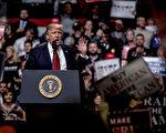 """川普政府颁布的新版旅游禁令15日再次被联邦法官暂停执行。川普表示:""""为保护美国及国人的安全,我将抗争到底。"""" (Andrea Morales/Getty Images)"""