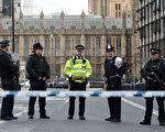 週三(3月22日),英國倫敦國會大廈外發生一起恐怖主義事件,造成4人死亡,20多人受傷。(Photo by Jack Taylor/Getty Images)