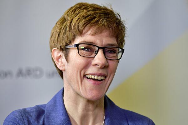 基民盟薩爾州主席Annegret Kramp-Karrenbauer在州選舉中大勝,她獲得了40%以上的選票。  (Thomas Lohnes/Getty Images)