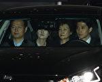 韓國前總統朴槿惠3月31日凌晨被批捕,被立即帶到首爾市郊區的看守所。(Chung Sung-Jun/Getty Images)