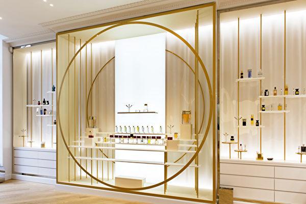 香水概念展厅。(博物馆提供)