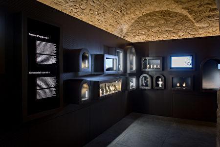 中世纪香水展厅。(博物馆提供)