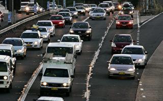 悉尼繁忙時的交通問題嚴重。 (Ian Waldie/Getty Images)