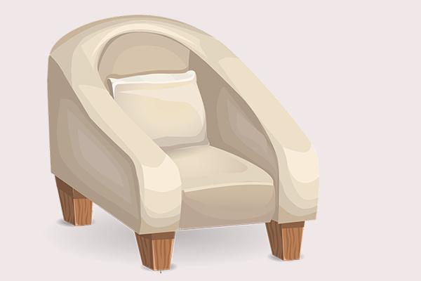 一位长辈站不起来的重要原因,竟是客厅的一张沙发椅。(pixabay)