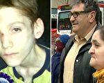 亚历克斯(左)于2013年5月死亡,死时体重只有37磅。9个月后,他的父母(右)被控一级谋杀。(法院提供)