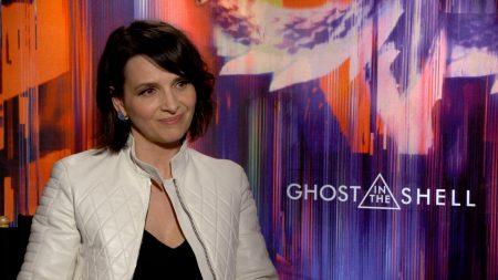法國影星Juliette Binoche。