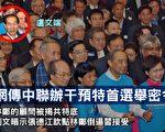 """在今次特首选举上,中央出现两种声音。有别于过去""""江握手董建华""""、""""曾庆红推荐梁振英""""等不同的是,习当局在二会期间透过多个途径传递对香港特首选举的态度""""不钦点、让香港选委自己选"""",同时,江派政治局常委张德江推行""""中央任命论""""力捧民望低的林郑月娥当选,习近平、张德江显示出现严重分歧,令香港选情充满悬念。图为卢文端出席林郑月娥的选举活动。(大纪元资料图片)"""