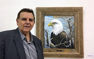 写实就是震撼!野生动物油画展在纽约开展