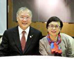 3520地区总监郭俊良伉俪。(3520地区总监提供)