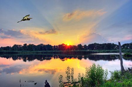 只有相互的心念才能与自然的美景惺惺相惜,要不山只是石头,水只是液体。(fotolia)