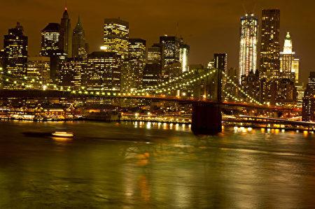 曼哈顿风光。(戴兵/大纪元)