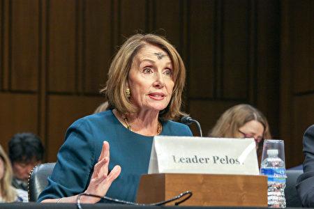 美国国会众议院前议长南希‧佩洛西(Nancy Pelosi)认为,美国政府应该发挥道德权威的作用,为改善中国的人权状况发声。(石青云/大纪元)‧