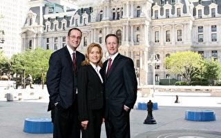 MMK 律師事務所(The lawfirm of Mednick, Mezyk & Kredo, P.C. ) 三位個人傷害資深律師。(由MMK提供)