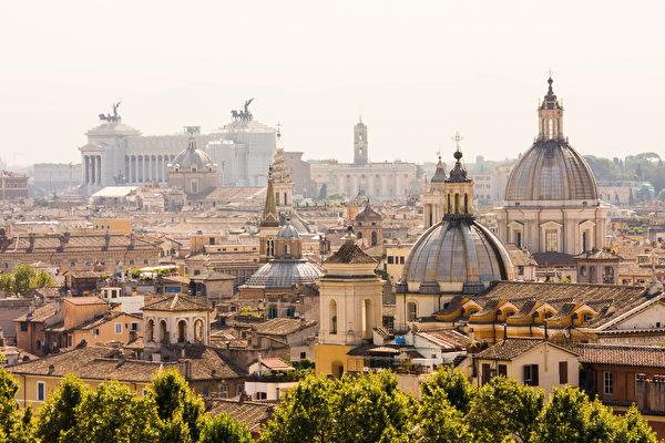罗马俯瞰。 (Vit Kovalcik/Shutterstock)