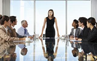 加拿大百強企業中,532個高管職位中,女性占48個。(Shutterstock)