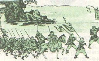 太平天國士兵行軍圖。(公有領域)