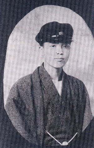 东京医专时代的潘木枝先生。(潘英超提供)