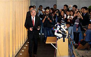 目前,曾俊华在3名香港特首候选人中民望最高。(潘在殊/大纪元)
