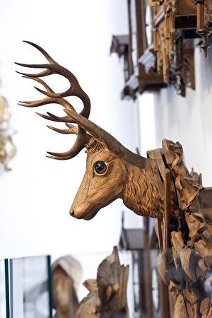 黑森林鐘錶博物館內部。(黑森林旅遊局提供)