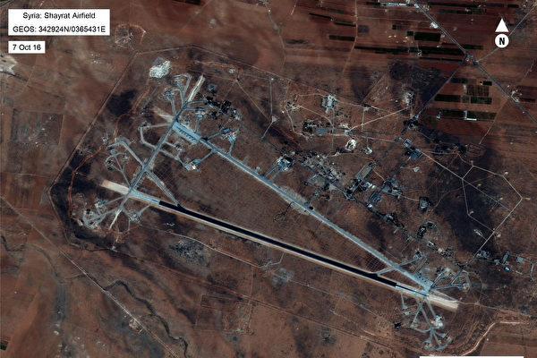 美國支持的敘利亞民主力量從伊斯蘭國(IS)手中奪回重鎮拉卡市的主要戰役,將在幾天內開始。圖為拉卡衛星圖像。(AFP PHOTO / US Department of Defense)