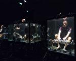 丹麥「音樂之間」樂團在水中演奏樂器並演唱,獨樹一格。(Jonathan NACKSTRAND / AFP)