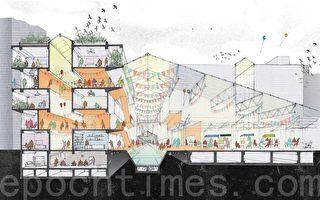 「一起設計」持續推動「鹽埕水上人家-未來大溝頂」計畫,希望從小地方開始,讓城市有些改變。(方金媛/大紀元)