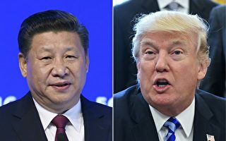 川普(特朗普)總統和中國國家主席習近平再次通話。(FABRICE COFFRINI,MANDEL NGAN/AFP/Getty Images)