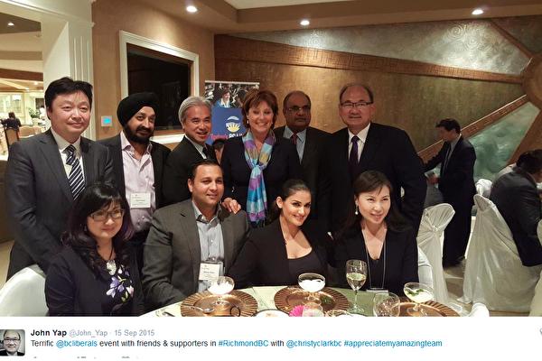 NDP爆料黃世惠與省自由黨有交情