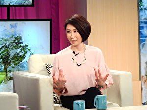 李翊君接受电视节目专访。(台视提供)