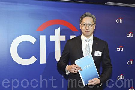 花旗香港董事总经理兼零售银行业务主管林智刚。(余钢/大纪元)