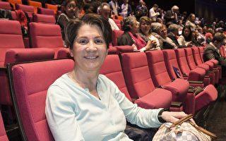 人力資源人生取向教練Isabelle Pesqué看了美國神韻世界藝術團在法國巴黎國際會議中心(Centre Culture lnternationale Paris)的第一場演出。(金湖/大紀元)