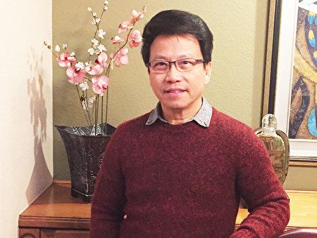 1976年从香港移民到美国后,陈日明在熊猫餐业集团打拼35年,从服务生,做到经理,再到地区总管,最后成为该集团3个区域运作副总裁之一。他说自己真诚、传统的做人做事的态度为他铺就了有所成之路。图为退休后的陈日明。(陈日明提供)
