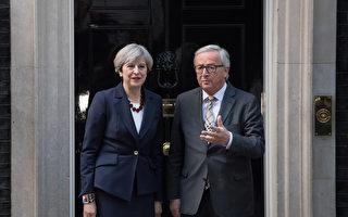 梅伊晚宴會歐盟協商官員 英:相當有益